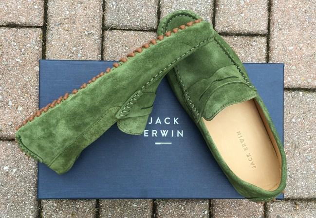 Jack Erwin Green Suede_1