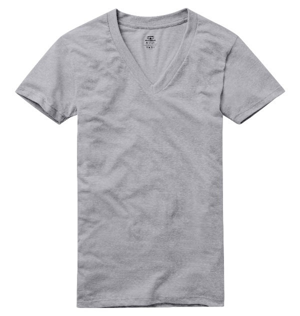 Ribbed Tee Retro Fit Heather