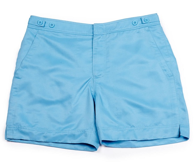 Thomas Royall Blue George Shorts