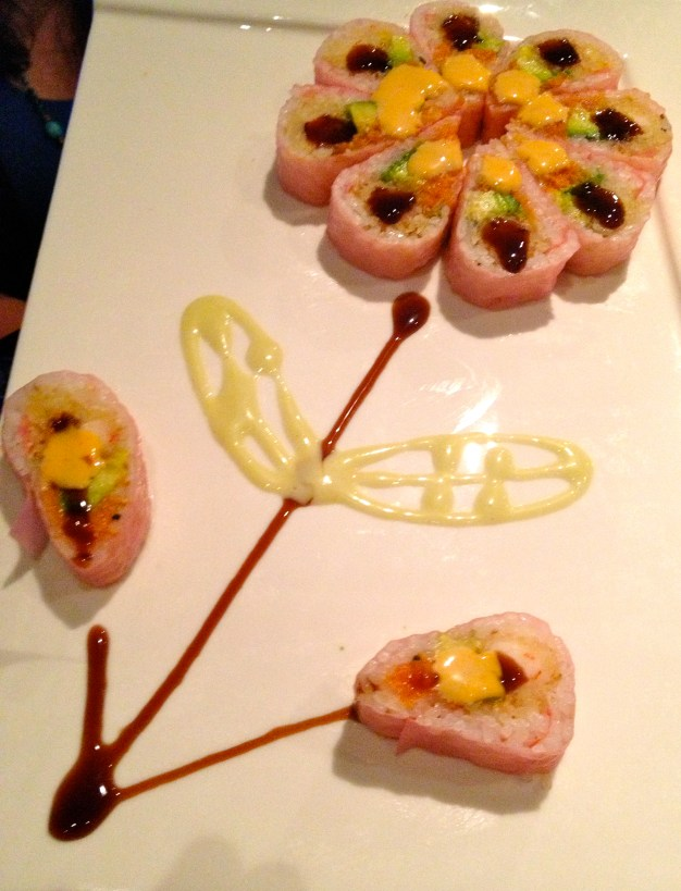 Cherry Blossom Roll at Red Ginger