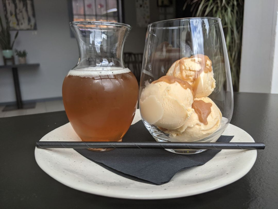 Ice Cream float from The Ainsle