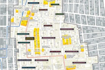los angeles fashion district » Full HD MAPS Locations - Another ...