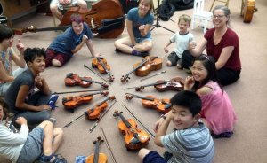 Balsa Wood Violin Project - SummerFest