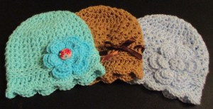 Newborn Cloche hat Pattern