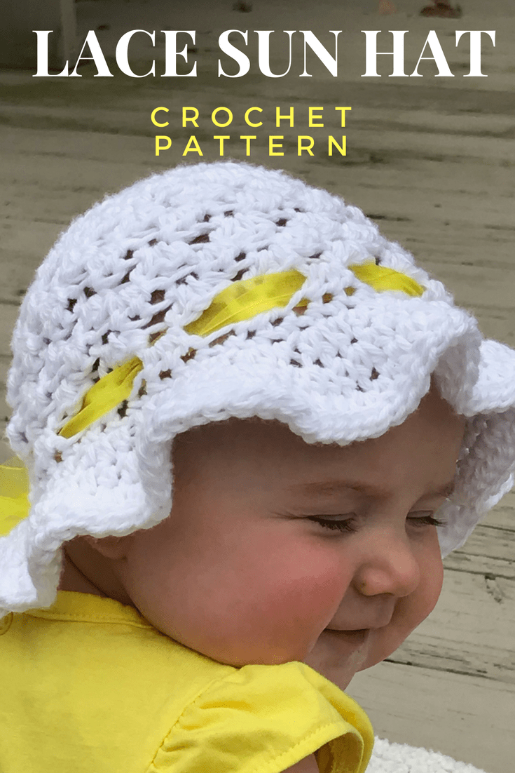 How to Create Super Cute Crochet Baby Sunhat  c32db99c0