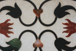 Beautiful inlay work done on marble