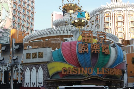 Casino Lisboa during the day
