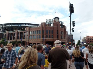 Gamenight at Coors Field