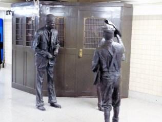 Penn Station statues