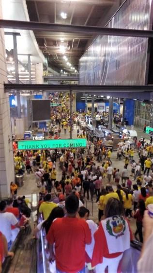 MetLife Stadium concourse
