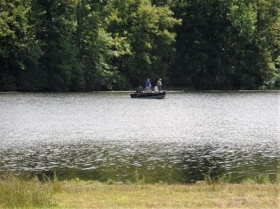 Fishing in Wawayanda Lake
