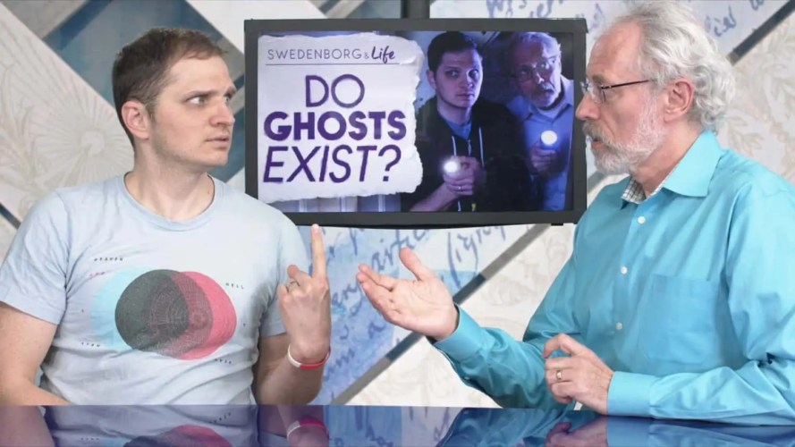 The hosts of Swedenborg and Life discuss ghost stories