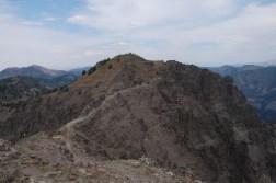 Knife-edged Ridge