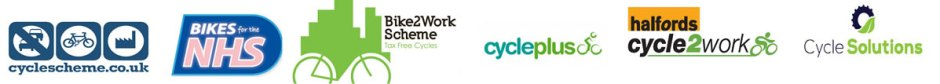 Available on cycle to work schemes
