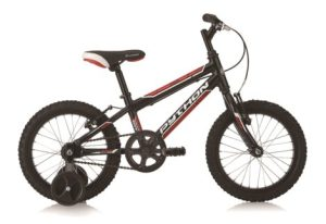 "Python Rock 16"" Black Red Bike"