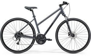 Merida Crossway 40 Women's Grey Black Hybrid