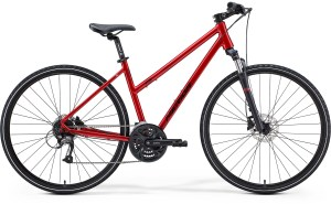 Merida Crossway 40 Women's Red Hybrid