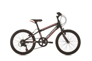 "Python Rock 20"" Black Red Bike"