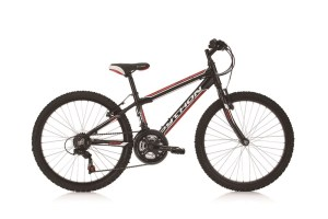 Python Rock 24 Black Red Bike