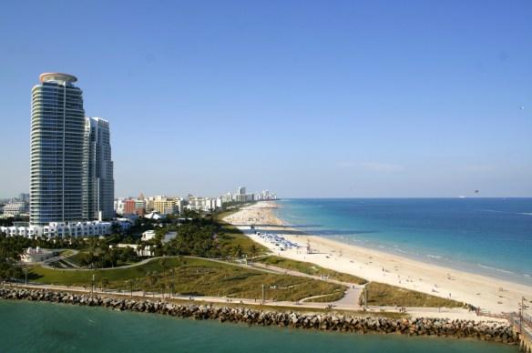 Carnival Breeze Miami Deck