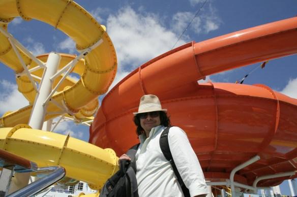 Carnival Breeze Water Slide