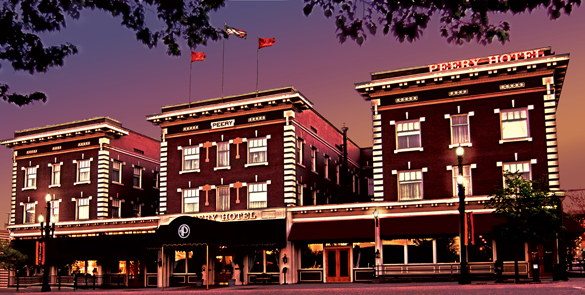 Haunting at The Peery Hotel