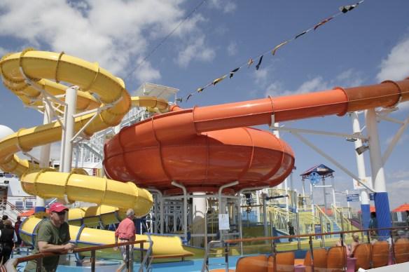 Carnival Breeze Slides