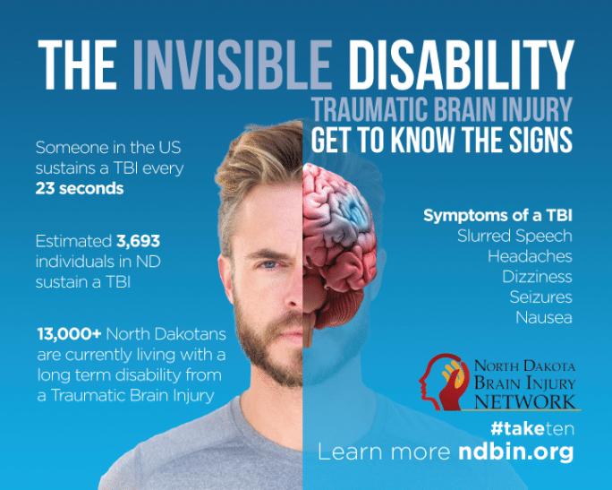 North Dakota Brain Injury Network | Indoor Billboards | Off The Wall Advertising