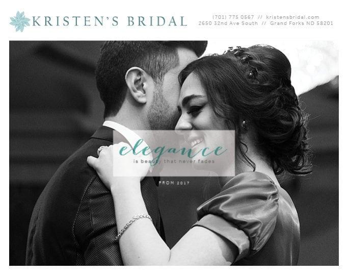 Kristen's Bridal | Indoor Billboards | Off The Wall Advertising