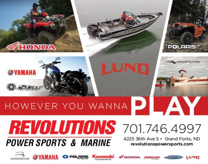 Revolutions Power Sports & Marine | Indoor Billboards | Off The Wall Advertising