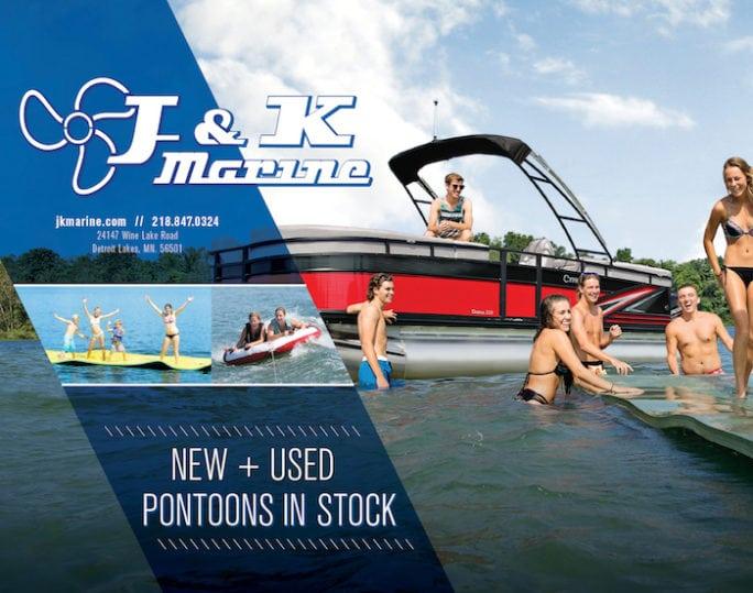 J & K Marine | Indoor Billboard | Off The Wall Advertising