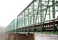 Bridge from PA to NJ over the Delaware River