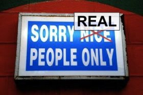 real people only