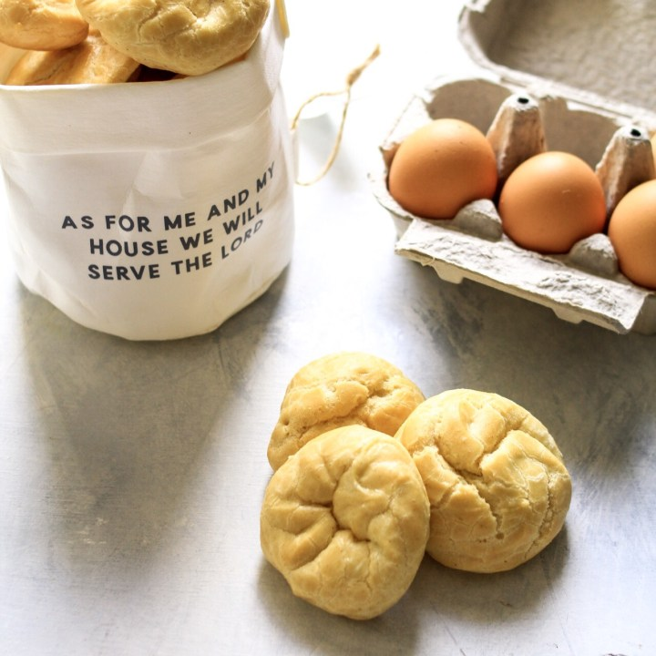 Coconut Oil Choux Pastry