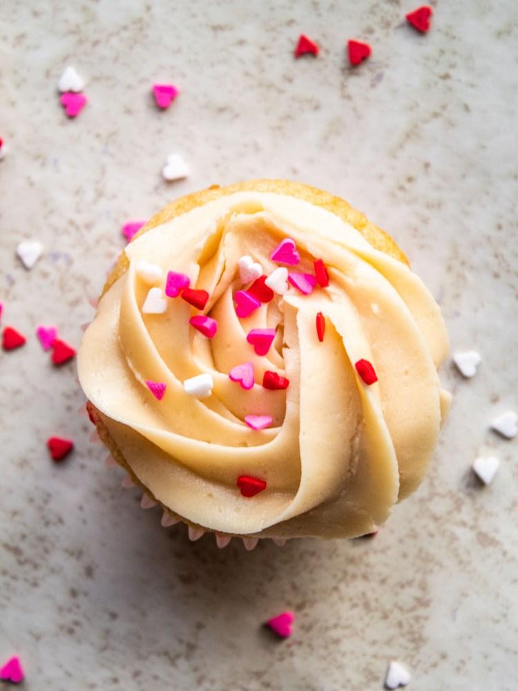gluten free prosecco cupcakes