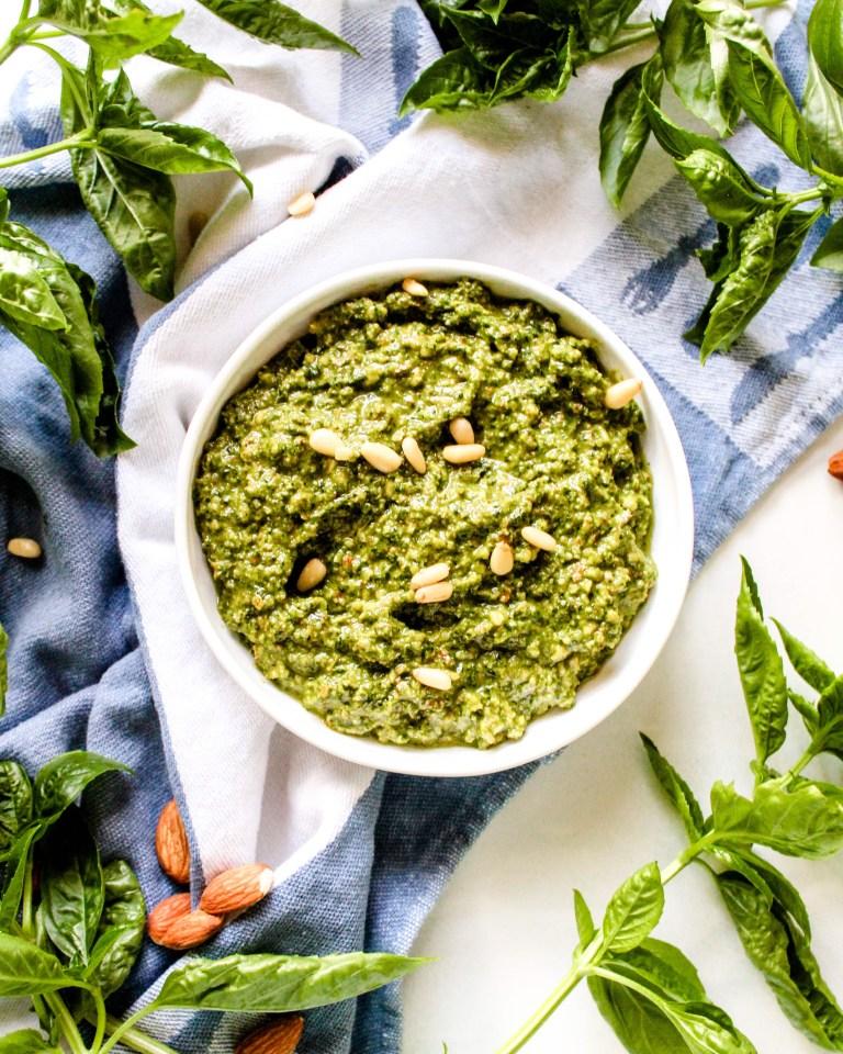 Pine Nut Free Pesto