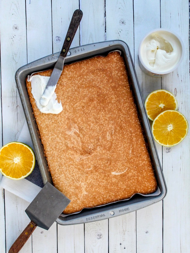 Gluten Free Orange Sponge Cake