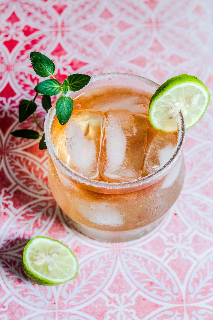 Paloma Cocktail (Gluten Free + Refined Sugar Free)