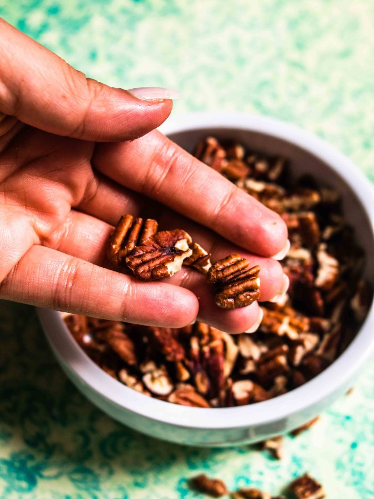 Easy Gluten free Toasted Pecans