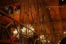 Christmas at the Dome bar in Edinburgh