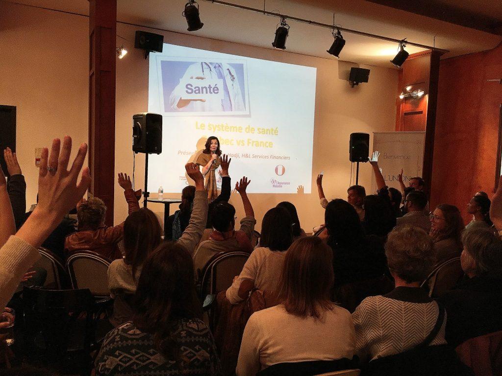 conférence Union Française de Montreal