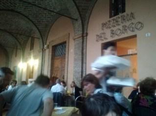 The pizzeria.