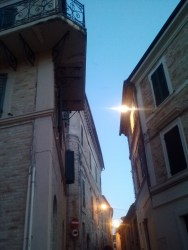 Montelupone alley