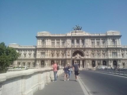 The Palazzo di Giustizia.
