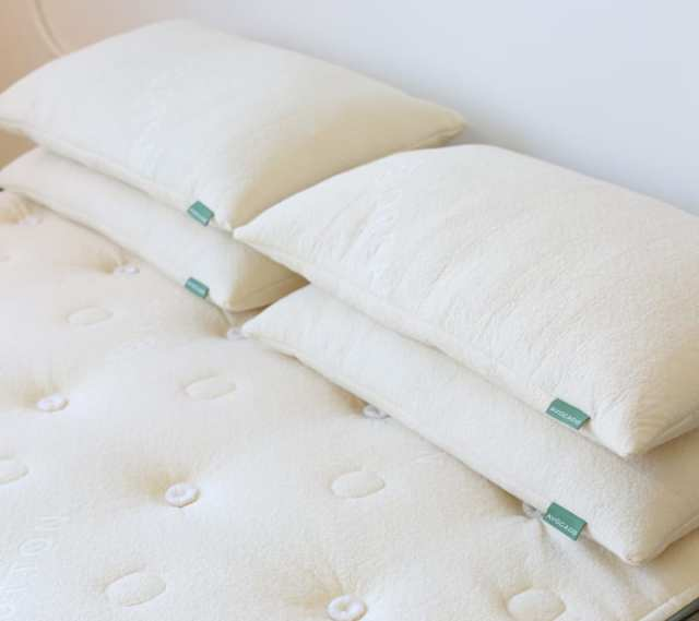 Need a vegan pillow to compliment your vegan bedding? Carbon-neutral company Avocado Mattress has one!
