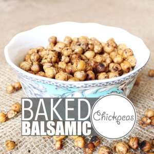 "Baked Chickpeas by Of Houses and Trees | Chickpeas are crazy versatile and so is my ""world famous"" baked chickpeas recipe. Eat them warm out of the oven, as a cold snack, with salad, pasta or rice!"