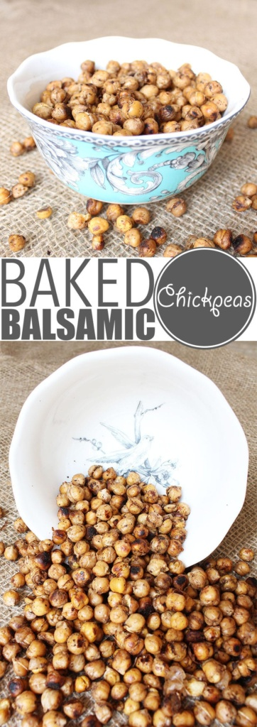 "Baked Chickpeas | Chickpeas are crazy versatile and so is my ""world famous"" baked chickpeas recipe. Eat them warm out of the oven, as a cold snack, with salad, pasta or rice!"