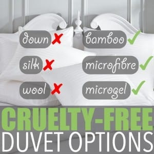 Vegan Bedding by Of Houses and Trees | What goes into collecting the down or silk used for duvet fill? The story isn't pretty, but thankfully vegan bedding is a readily available option.