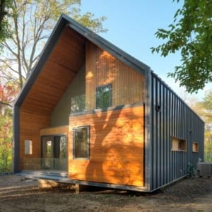 You might be wondering what an eco-friendly house costs and if it's something you can afford. This LEED Platinum home is just one example on the spectrum of environmentally conscious houses, which can range from a certified green home to a standard home with green finishes. Remember -