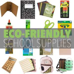 Eco-Friendly School Supplies